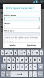 LG Optimus F5 - Internet et connexion - Partager votre connexion en Wi-Fi - Étape 7
