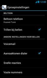 Huawei Ascend Y300 - Voicemail - Handmatig instellen - Stap 4