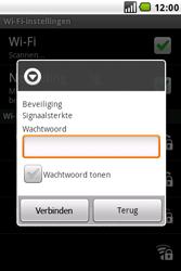 LG GW620 - Wifi - handmatig instellen - Stap 8