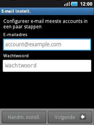 Samsung S5570 Galaxy Mini - E-mail - Handmatig instellen - Stap 5
