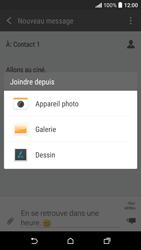 HTC Desire 530 - Contact, Appels, SMS/MMS - Envoyer un MMS - Étape 15