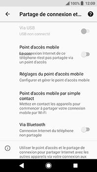 Sony Xperia XA2 Ultra - Internet et connexion - Utiliser le mode modem par USB - Étape 6