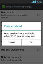 LG E610 Optimus L5 - Internet - Enable or disable - Step 7