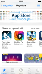 Apple iPhone 5 met iOS 7 - Applicaties - Downloaden - Stap 4