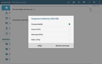 Samsung Galaxy Tab S 10.5 4G (SM-T805) - E-mail - Hoe te versturen - Stap 17