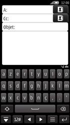 Nokia 808 PureView - E-mail - envoyer un e-mail - Étape 5
