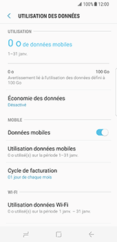 Samsung Galaxy S8 - Internet - activer ou désactiver - Étape 6