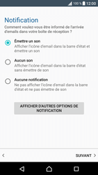 Sony Sony Xperia XA (F3111) - E-mail - Configuration manuelle (outlook) - Étape 14