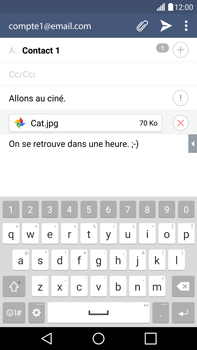 LG G4 - E-mails - Envoyer un e-mail - Étape 17