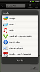 HTC S720e One X - Mms - Envoi d