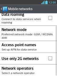 LG E430 Optimus L3 II - Network - Usage across the border - Step 6