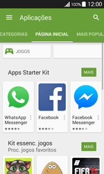 Samsung Galaxy Ace 4 - Aplicações - Como pesquisar e instalar aplicações -  5