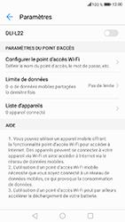 Honor 6A - Internet et connexion - Partager votre connexion en Wi-Fi - Étape 7