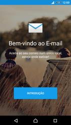 Sony Xperia Z3 Plus - Email - Adicionar conta de email -  4