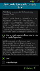 Samsung I9500 Galaxy S IV - Primeiros passos - Como ativar seu aparelho - Etapa 7
