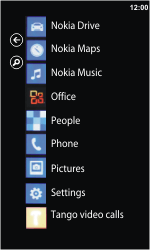 Nokia Lumia 900 - Voicemail - Manual configuration - Step 3