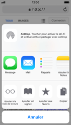 Apple iPhone SE - iOS 11 - Internet - navigation sur Internet - Étape 5