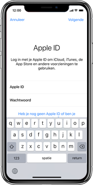Apple iphone-xr-met-ios-12-model-a1984 - Instellingen aanpassen - Back-up maken van je iCloud-data - Stap 6