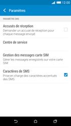 HTC Desire 816 - SMS - Configuration manuelle - Étape 8