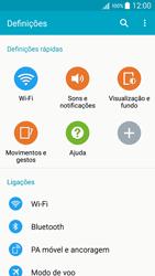 Samsung Galaxy A5 - Internet no telemóvel - Como partilhar os dados móveis -  4