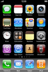 Apple iPhone 3G - Buitenland - Bellen, sms en internet - Stap 1