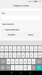 Huawei Nova - E-mail - Configuration manuelle - Étape 18