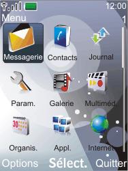 Nokia 7210 supernova - SMS - Configuration manuelle - Étape 3