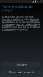 Samsung G900F Galaxy S5 - Applications - Créer un compte - Étape 14