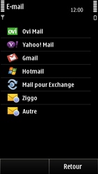 Nokia E7-00 - E-mail - Configuration manuelle - Étape 7