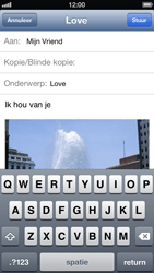 Apple iPhone 5 - E-mail - Hoe te versturen - Stap 10