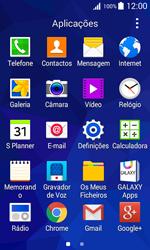 Samsung Galaxy Trend 2 Lite - SMS - Como configurar o centro de mensagens -  3