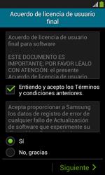 Samsung S7580 Galaxy Trend Plus - Primeros pasos - Activar el equipo - Paso 6