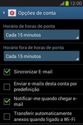 Samsung Galaxy Fame - Email - Adicionar conta de email -  7