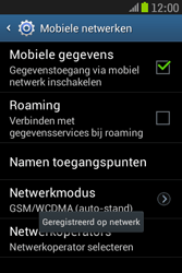 Samsung S6310 Galaxy Young - Bellen - in het buitenland - Stap 10