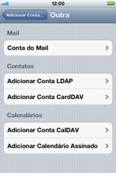 Apple iPhone iOS 5 - Email - Como configurar seu celular para receber e enviar e-mails - Etapa 6