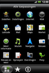 HTC A510e Wildfire S - E-mail - e-mail instellen: POP3 - Stap 3