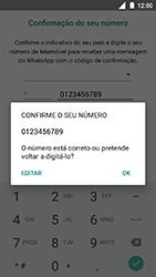 Nokia 3 - Aplicações - Como configurar o WhatsApp -  10