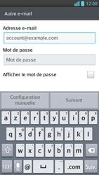 LG Optimus F6 - E-mails - Ajouter ou modifier un compte e-mail - Étape 6