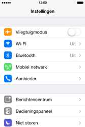 Apple iPhone 4S iOS 7 - Bellen - in het buitenland - Stap 3