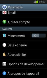 Samsung S7390 Galaxy Trend Lite - Appareil - Mises à jour - Étape 5