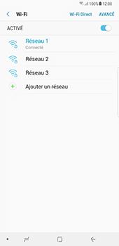 Samsung Galaxy Note 8 - Wi-Fi - Accéder au réseau Wi-Fi - Étape 9