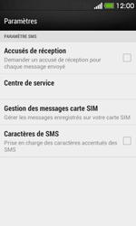 HTC Desire 500 - SMS - Configuration manuelle - Étape 8