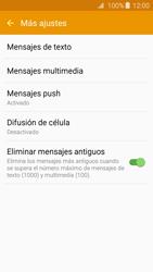 Samsung Galaxy A3 (2016) - Mensajería - Configurar el equipo para mensajes de texto - Paso 7