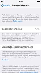 Apple iPhone SE - iOS 11 - Bateria - Desactivar a gestão de desempenho -  8