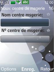 Nokia 7210 supernova - SMS - Configuration manuelle - Étape 8