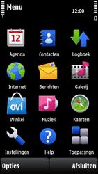 Nokia X6-00 - MMS - hoe te versturen - Stap 2