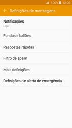Samsung Galaxy A3 A310F 2016 - SMS - Como configurar o centro de mensagens -  6