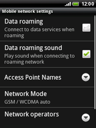 HTC A3333 Wildfire - MMS - Manual configuration - Step 6