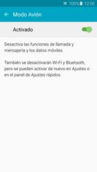 Samsung Galaxy S6 - Funciones básicas - Activar o desactivar el modo avión - Paso 6