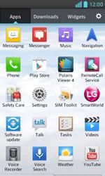 LG E460 Optimus L5 II - Voicemail - Manual configuration - Step 3